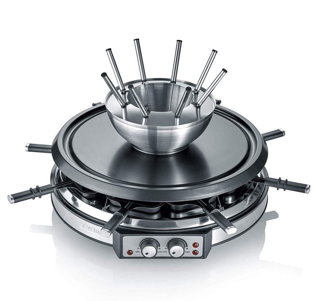 Fondue-Raclette Kombigerät